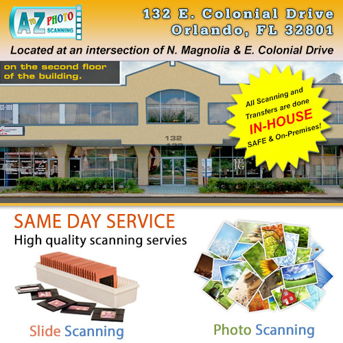 Orlando Photo & Slide Scanning Services